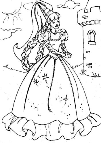 princess-ariel-coloring-pages