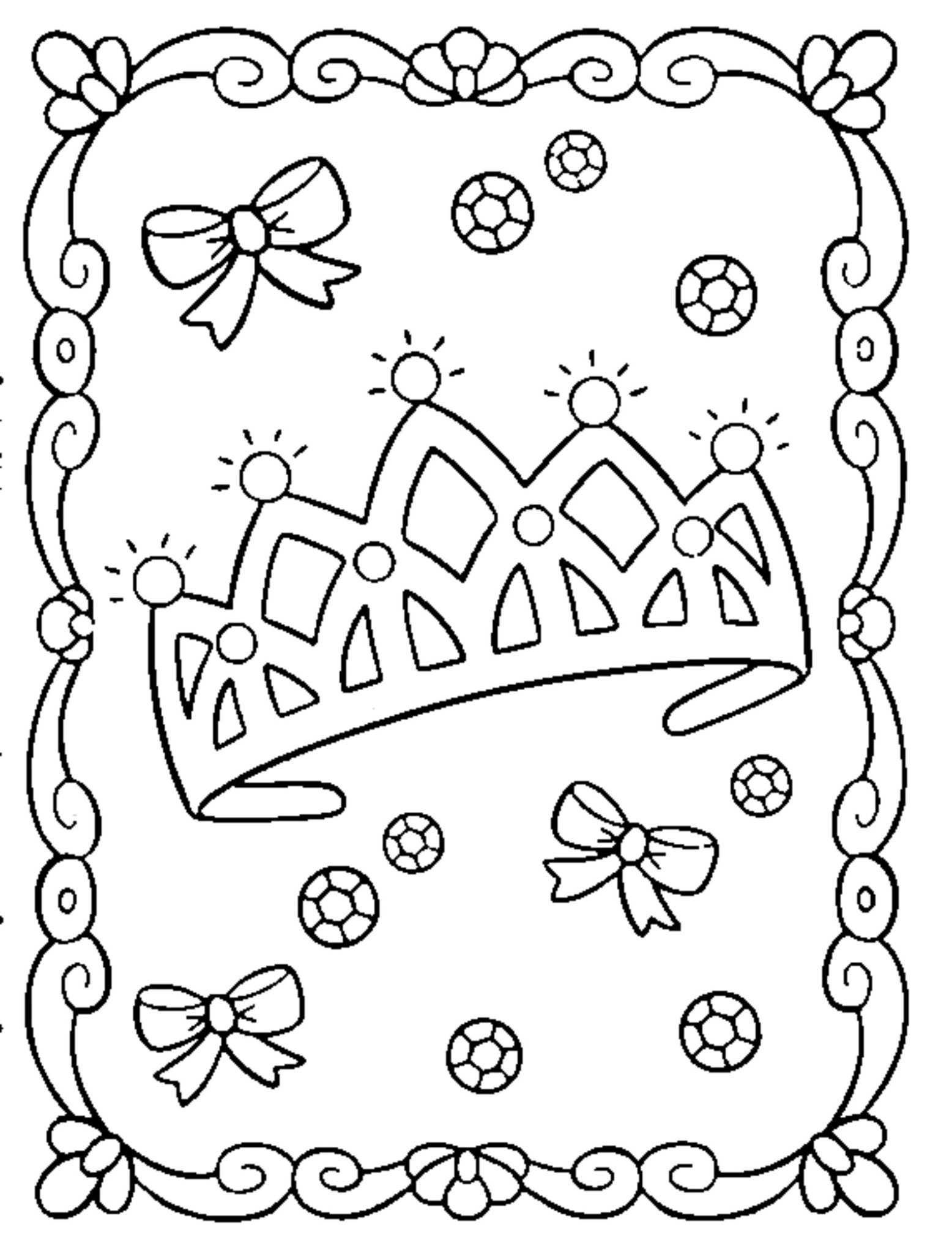 Princess Coloring Pages Online Bestappsforkids