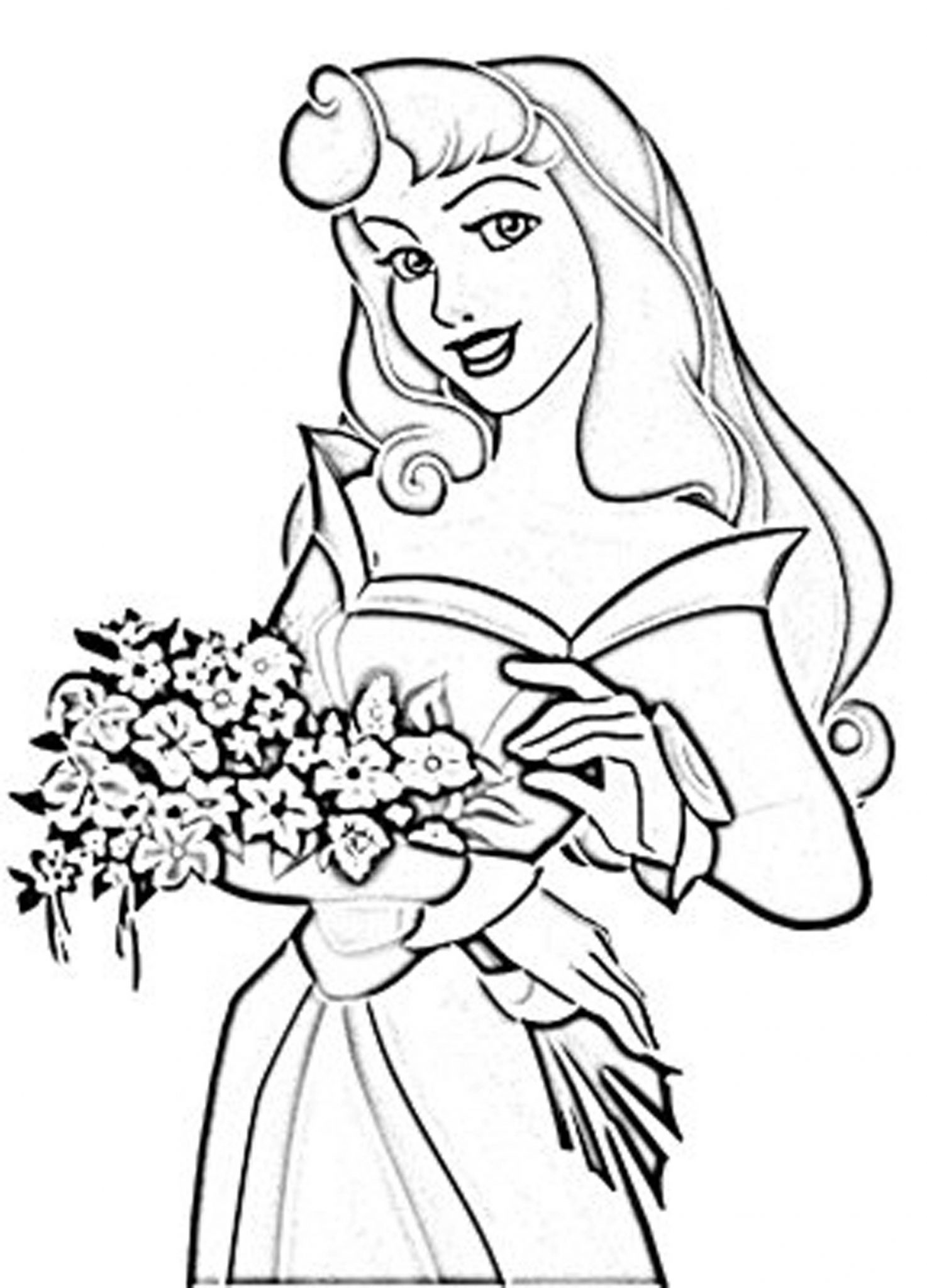 Print & Download - Princess Coloring Pages, Support The ...