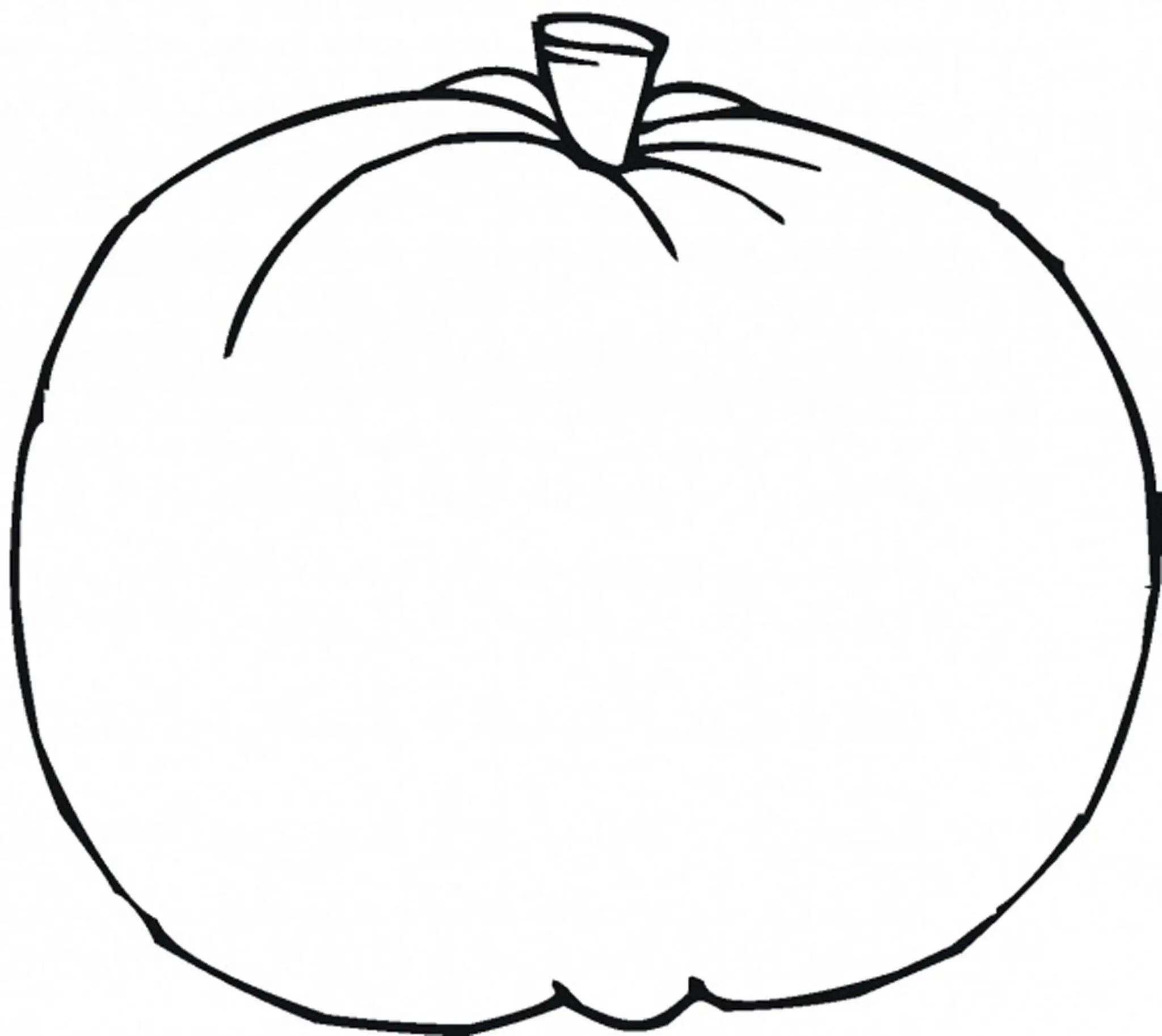 printable pumpkin coloring pages preschool