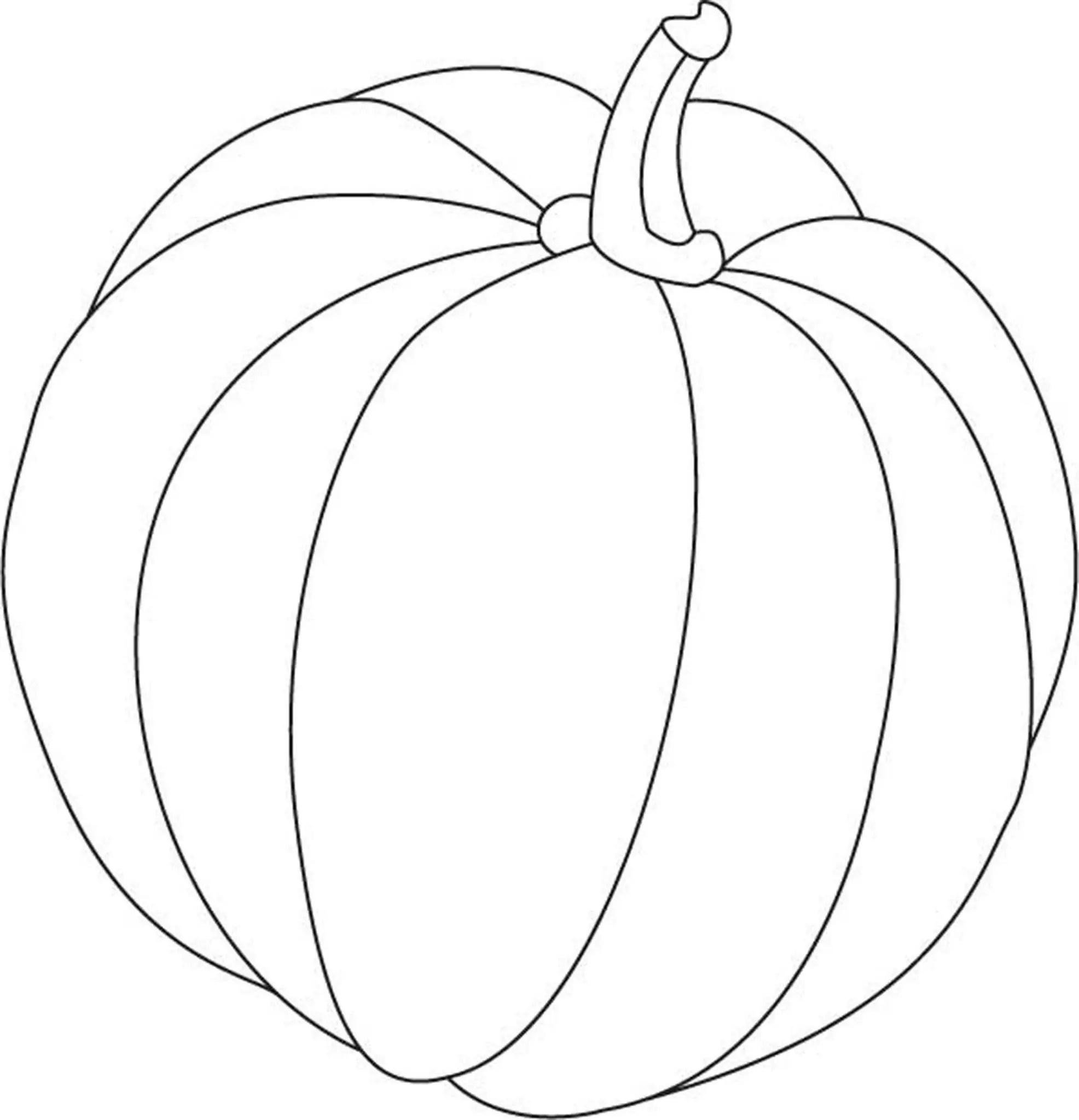 pumpkin coloring pages preschool