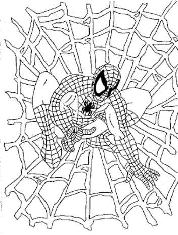 spiderman-coloring-pages-free-online