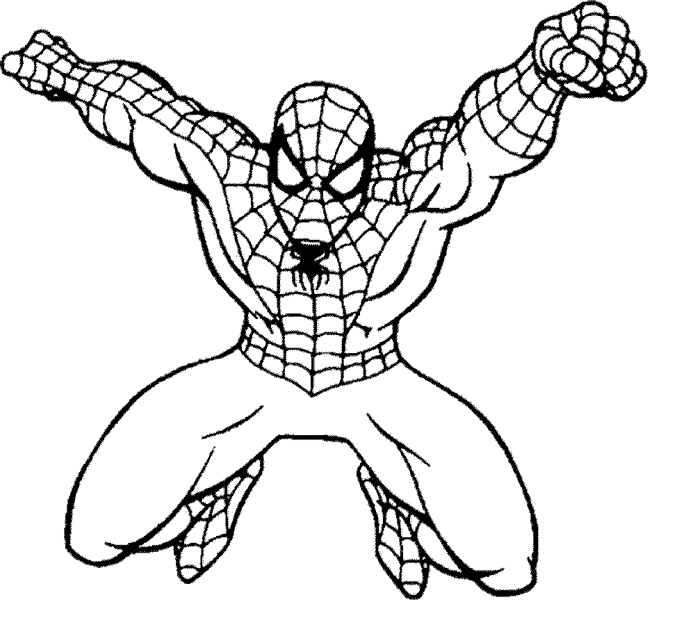Spiderman Coloring Pages Free Bestappsforkids
