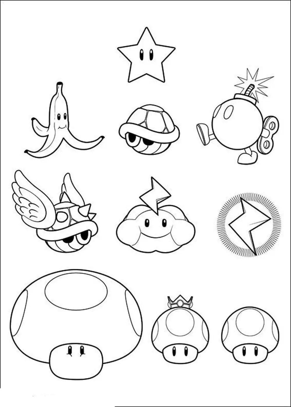 Print amp Download Mario Coloring