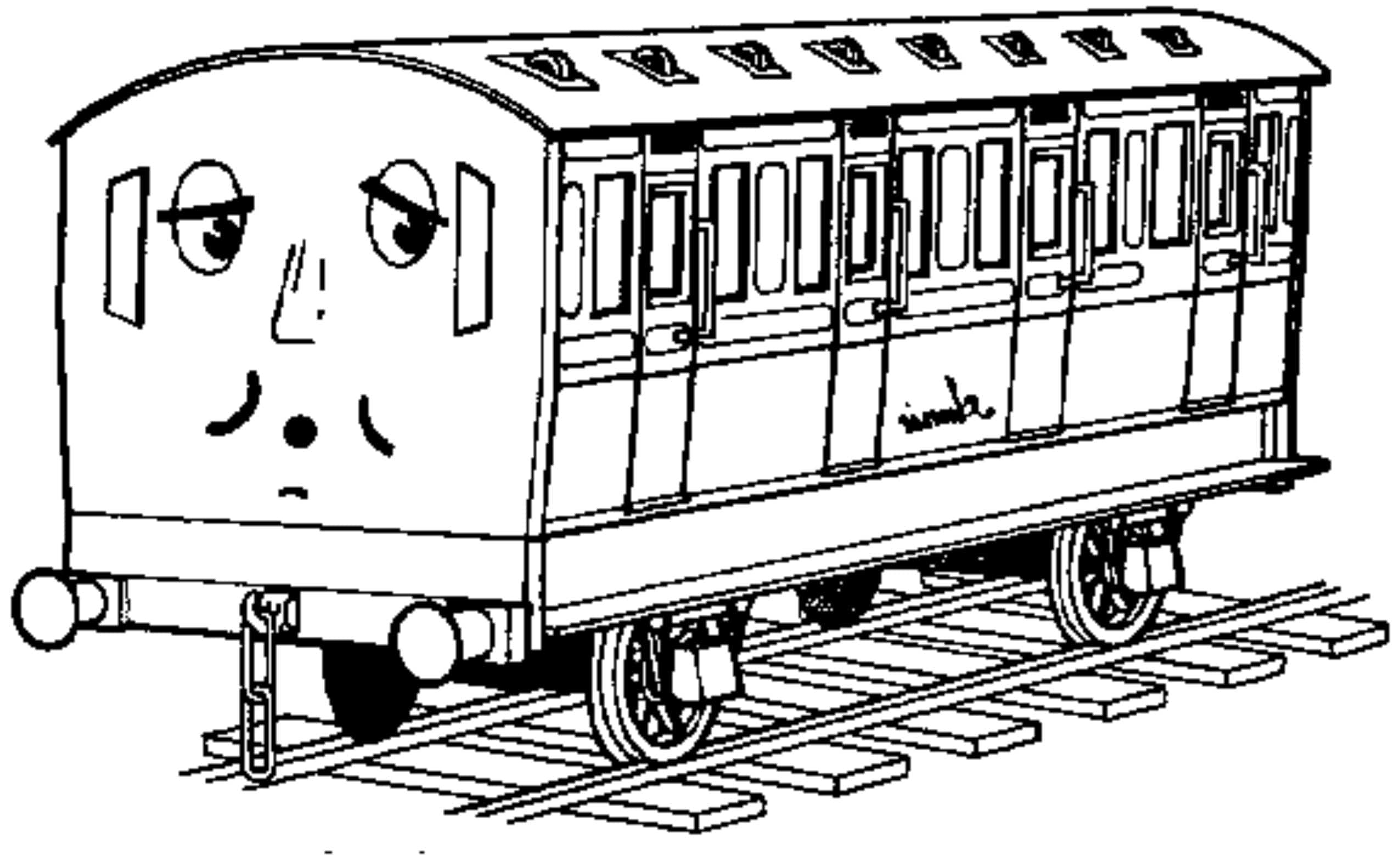 Thomas And Friends Coloring Pages Printable