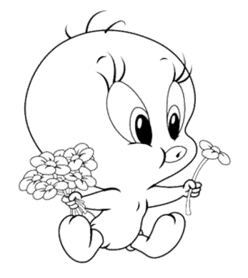 tweety-bird-looney-tunes-coloring-pages
