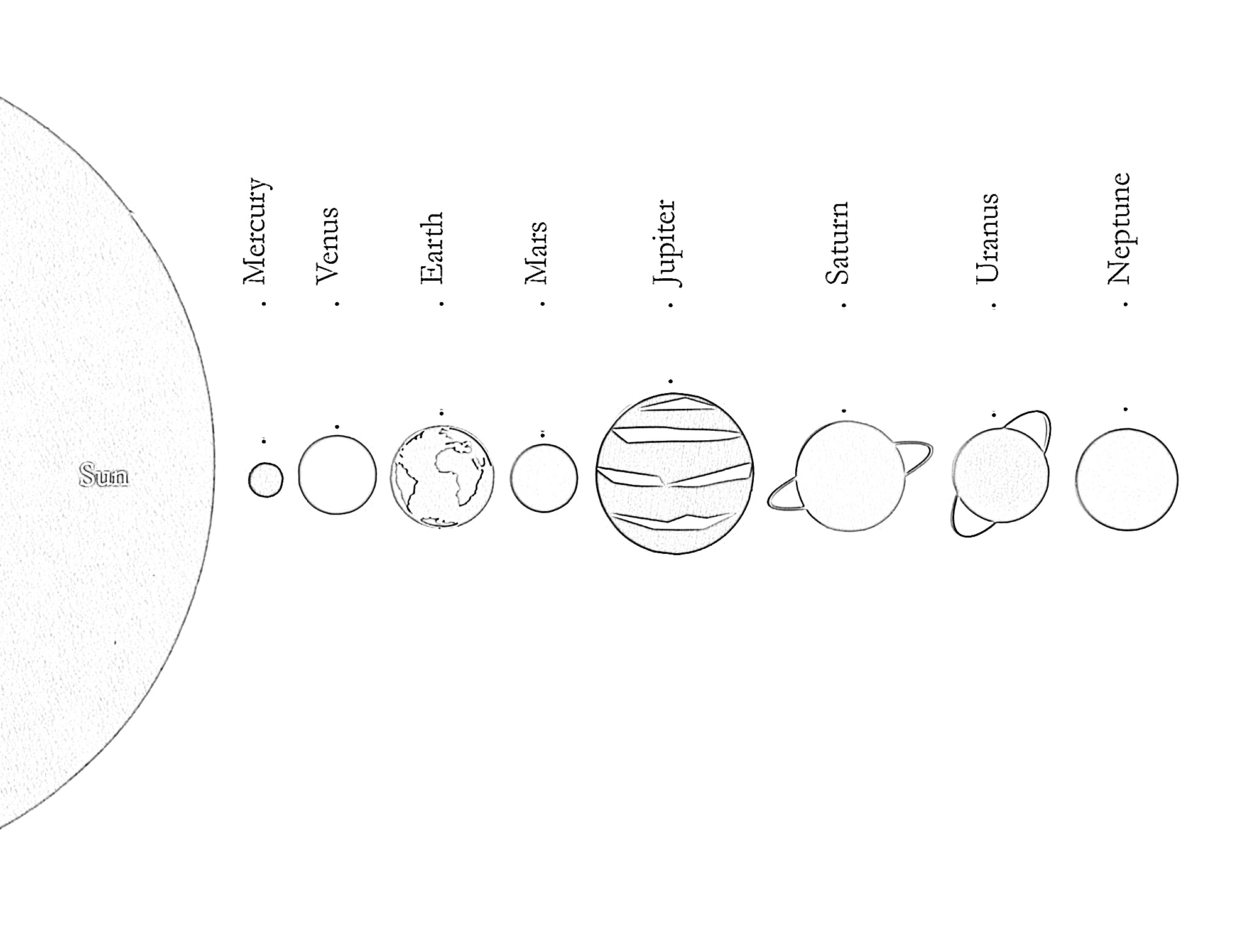 11 Free Solar System Coloring Pages For Kids