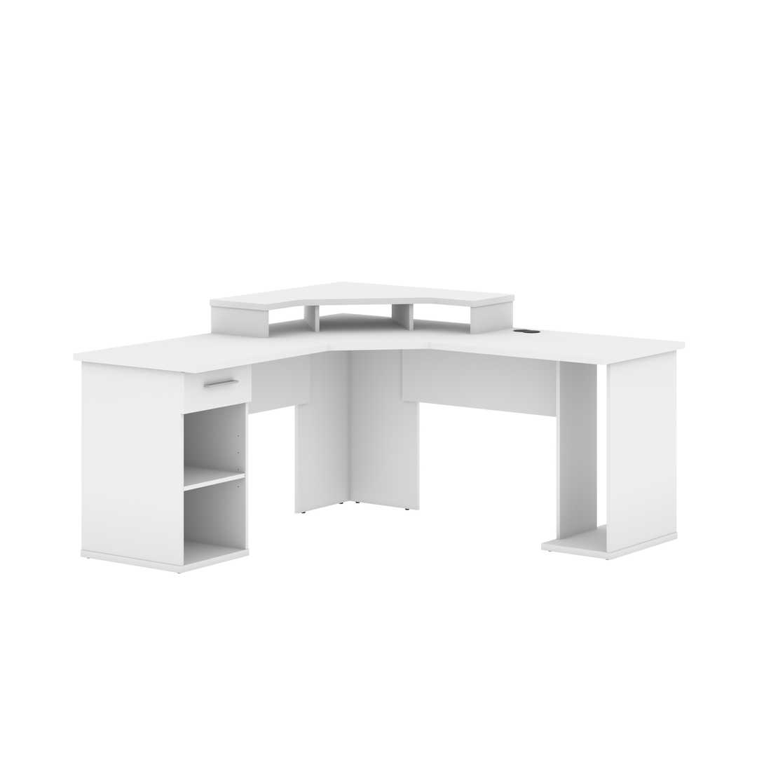 Hampton L Shaped Corner Gaming Desk Bestar