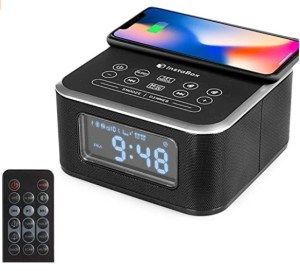InstaBox W33 - Bluetooth Dual Alarm Clock
