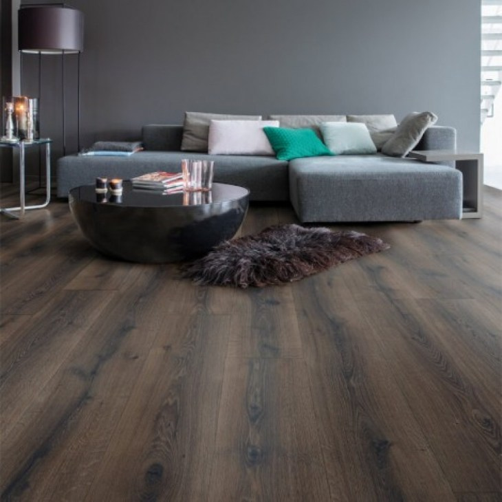 Quick Step Laminate | Majestic | Desert Oak Brushed Dark Brown MJ3553