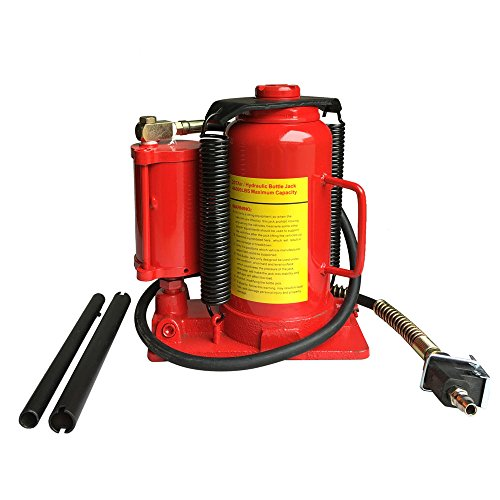 20 Ton 40 000lb Air And Hydraulic Bottle Jack Heavy Duty Auto Truck