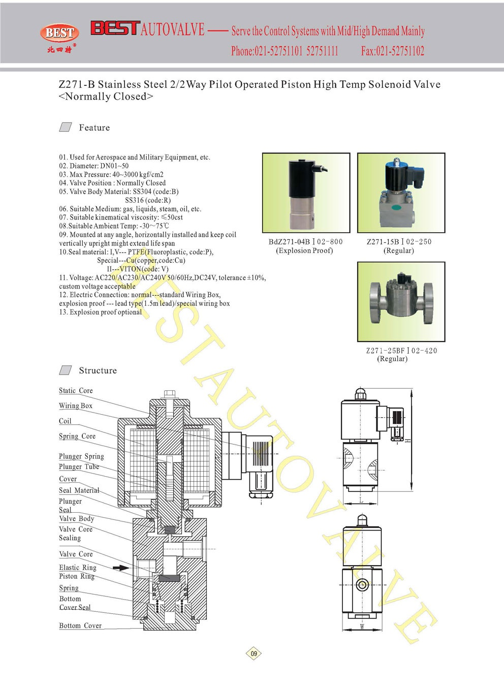 medium resolution of electric connection normal standard wiring box explosion proof lead type 1 5m lead special wiring box 13 explosion proof optional