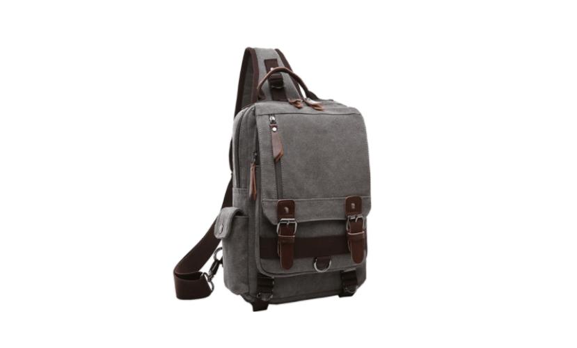 Mygreen Canvas Cross Body Messenger Bag Shoulder Sling Backpack