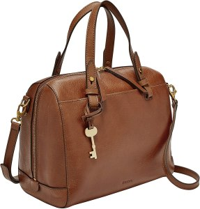 Fossil-brown-leather-purse