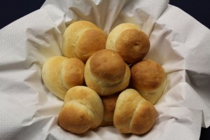 Zwieback - butter buns for supper