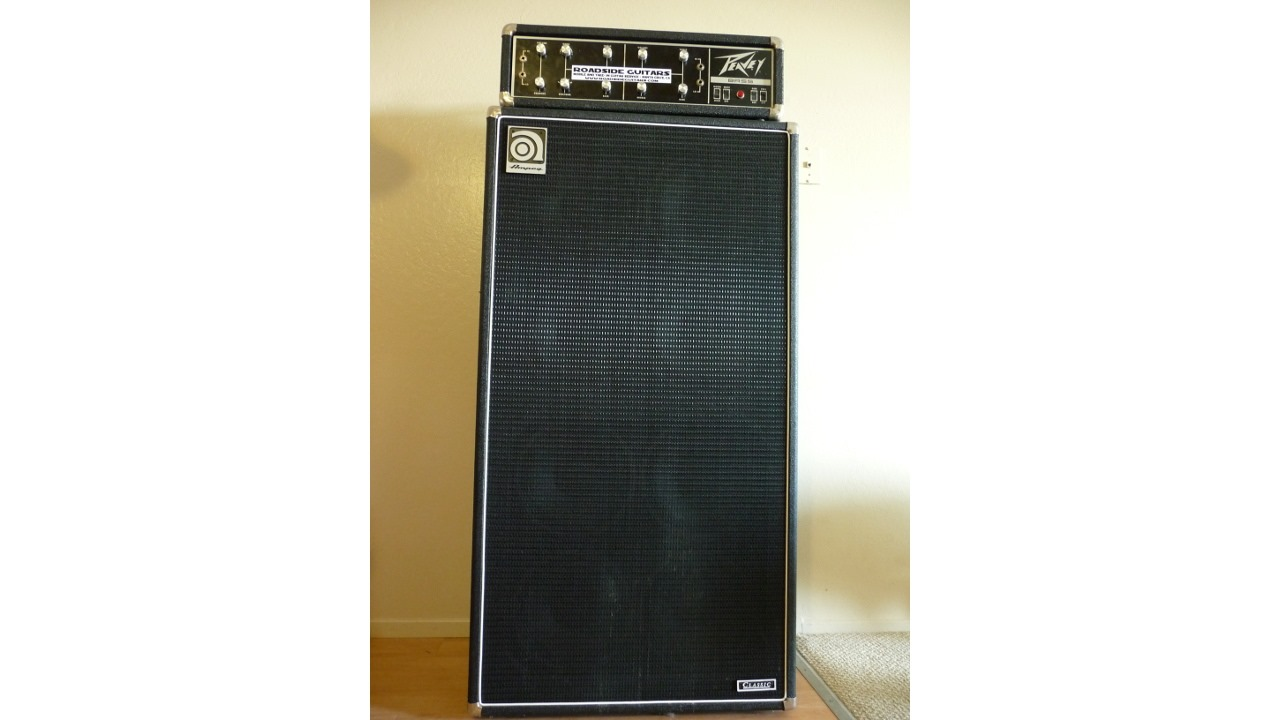 hight resolution of which speaker size projects best for a bass player when playing live