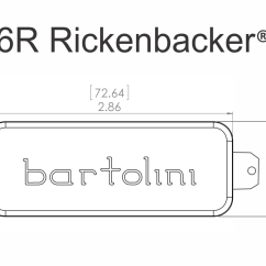 Bass Pickup Wiring Diagrams S Plan Diagram With Frost Stat Bartolini 6rc And 6rt Rickenbacker Set Best Gear