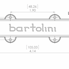Guitar Wiring Diagrams Coil Split Help For Understanding Simple Home Electrical Bartolini 57cbjd L1 5 String Jazz Bridge Pickup