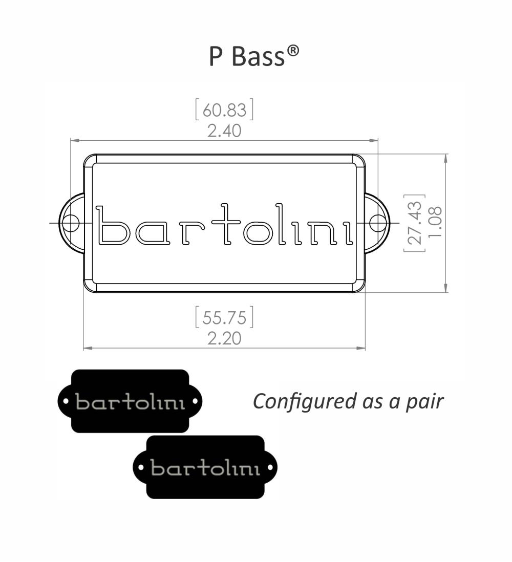 medium resolution of product dimensional drawing bartolini precision size deep tone humcancelling neck