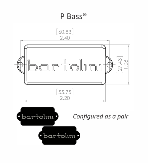 small resolution of product dimensional drawing bartolini precision size deep tone humcancelling neck