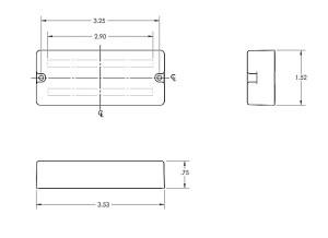 Seymour Duncan ASB0 Blackouts Dual Coil Pickups  Best Bass Gear