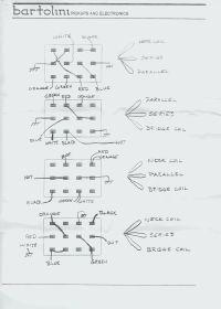 Bartolini Pickup Wiring Diagrams - Circuit Diagram Maker