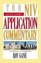 leviticus numbers commentary book cover