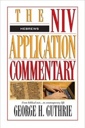 hebrews commentary book cover
