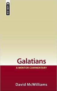 galatians commentary book cover