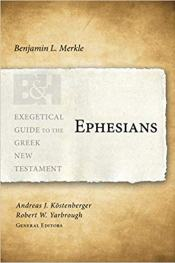 ephesians bible commentary cover merkle