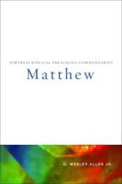 matthew bible commentary allen cover