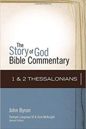 thessalonians bible commentary byron cover