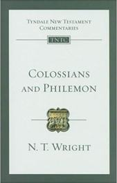 Colossians Philemon by N.T. Wright