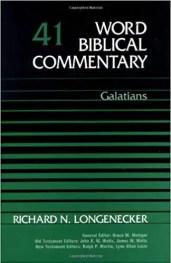 Galatians by Richard Longenecker