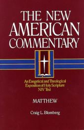 Matthew commentary by Craig Blomberg