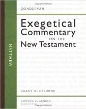 Matthew commentary by Grant Osborne