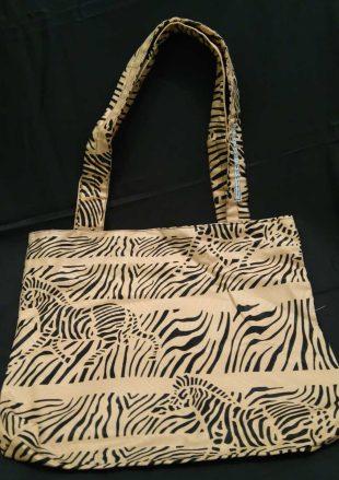 Zebra Print Handmade Bag