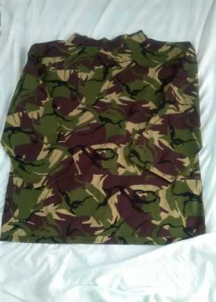Adult Green Camouflage Smock