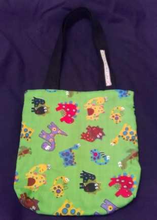 Childrens Dinosaur Print Bag