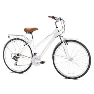Northwoods Ladies Crosstown 21 Speed Hybrid Bicycle