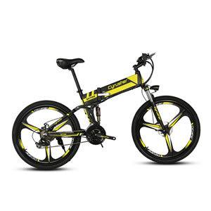 Cyrusher XF700 Folding Electric Bike 26 inch Mountain Bicycle