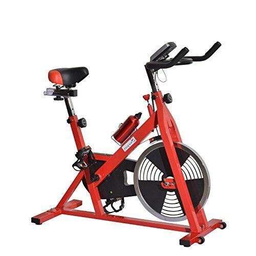 Soozier Upright Stationary Exercise Cycling Bike