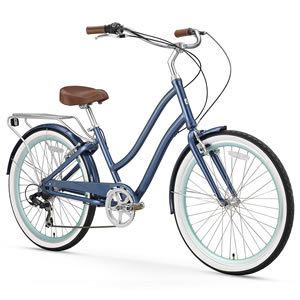 sixthreezero EVRYjourney Women's 26-Inch Hybrid Cruiser Bicycle