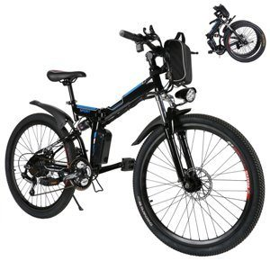 Kaluo Men's Folding Electric Mountain Bike with 36V 250W Lithium-Ion Battery and LED Light Review