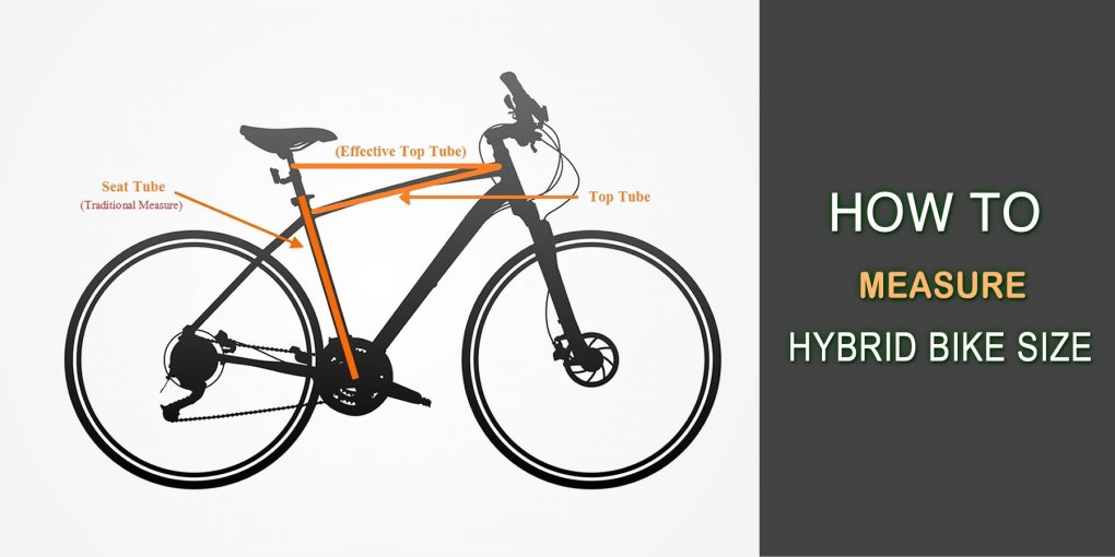 How To Measure Hybrid Bike Size: Step By Step Guide