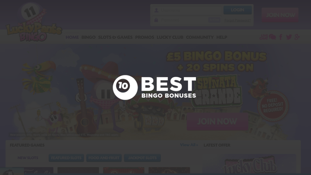 Lucky Pants Bingo Review – The Complete Player's Guide