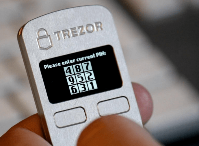 billetera trezor btc