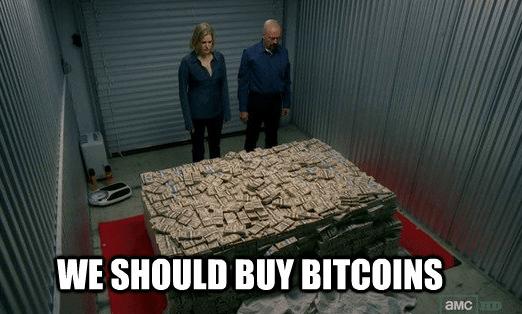 Why would anyone buy bitcoin?