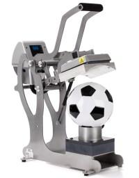 Hotronix Sports Ball Heat Press for Custom Printed Balls