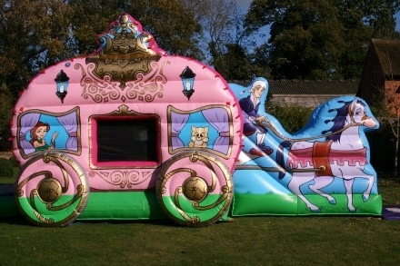 Princess Carriage Bouncy Castles To Hire In Surrey